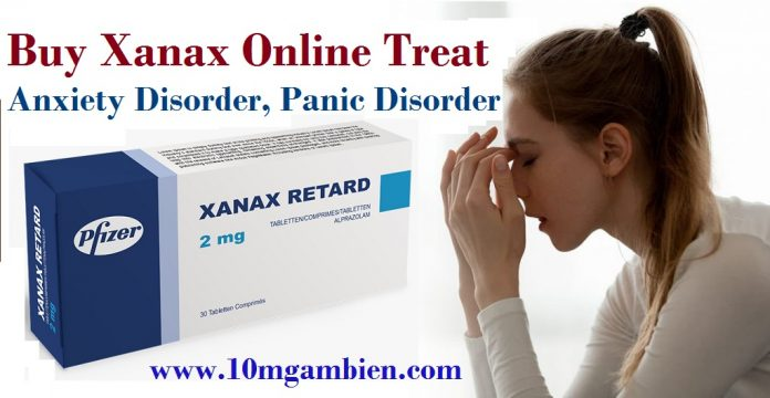 Buy Xanax Online treat Anxiety Disorder - 10mgambiencom