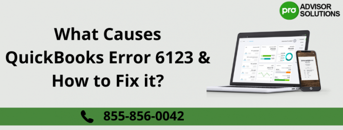 QuickBooks Error 6123